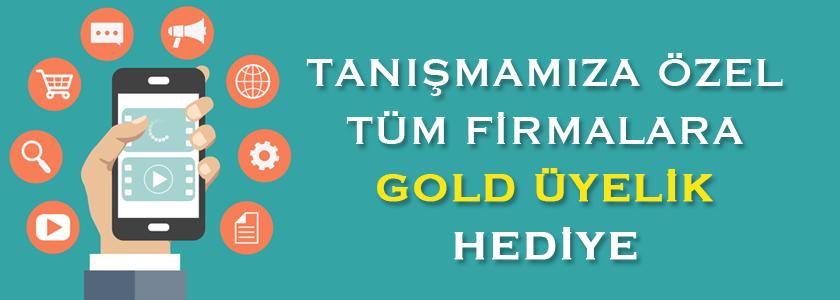 Tanışmaya Özel Tüm Firmalara GOLD Üyelik