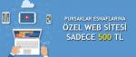 Pursaklar Esnaflarına Özel Web Sitesi 500 TL