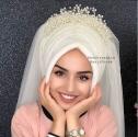 Kübra Şahin Hazır Duvak Kübra Modeli